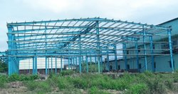 MS Fabricated Shed