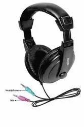 Elista Multimedia Headphone  CRYSTAL -EW100SM With Mic (SINGLE PIN)
