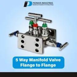 5 Way Manifold Flange To Flange