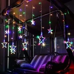 Qualityzone LED Multicolor Star Light, For Decoration, Plug-In