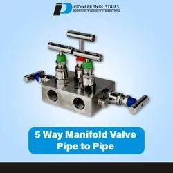5 Way Manifold Pipe To Pipe