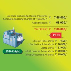 Autoprint Mini Offset Printing machine - 1520 Knight