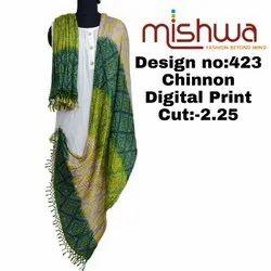 Linen Digital Print Dupatta