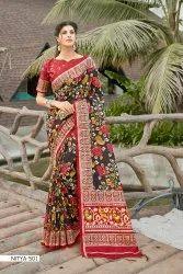 Women Nitya Silk Saree