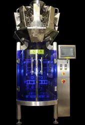 Automatic 10 Head Weigh Filler with Pneumatic Collar Type Bagger