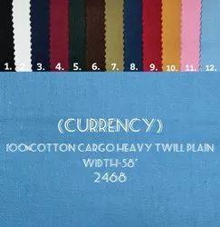 Kamlesh Textiles Formal cotton cargo heavy twill shirting fabric, For Making shirt, Machine wash