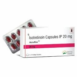 Accufine Isotretinoin Capsules, Dose: 20 mg