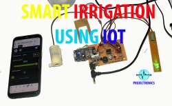 Smart Irrigation System Using IOT Model