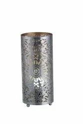 Graphix Pattern Cylindrical Table Lamp