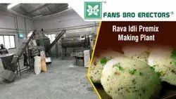 Rawa Idli Premix Manufacturing Plant