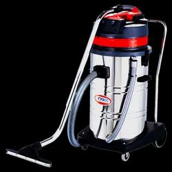 Industrial Vacuum Cleaner With Two Double Stage Italian Motor