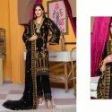 Pure Velvet With Embroidery Salwar Suit Wholesale