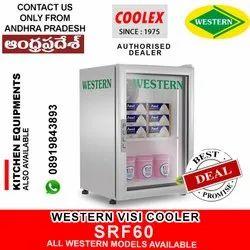 Western Visi Glass Door Vertical Freezer