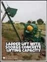Ladder Lift With 500kg Concrete Lifting Capacity