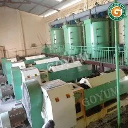 Industrial Oil Mill Plant