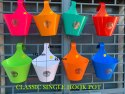 Plastic Single Railing Hook Pot