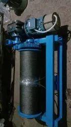 Single Phase Electric Winch Machine Indian Kmt Make