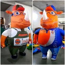 India Oil Rhino Inflatable