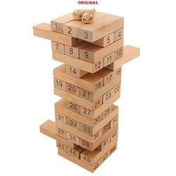 Wooden Jenga Kids Learning Game