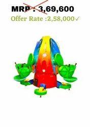 Kiddie Amusement Ride Game - Jumping Frog 3 Seater