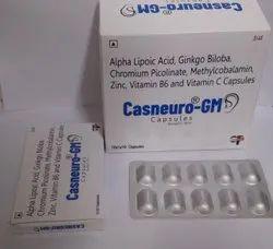 Ala Acid, Ginko Biloba, Chromium Picolinate, Methylcobalamin,  Vitamin B6 And Vitamin-c Capsule