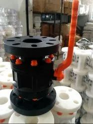 Beriwal HDPE Ball Valve Flanged End