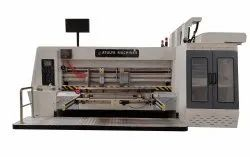 Two Color Printer Rotary Die Cutter With Slotter Attached