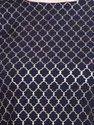 Women Printed Crepe Straight Kurti (Navy Blue)