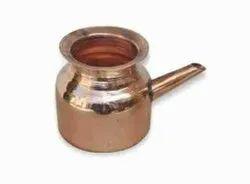 Plain Copper Neti Lota