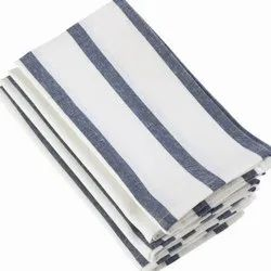 Linen Yarn Dyed Napkins, Size: 45 X 45cm