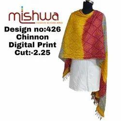 Ladies Digital Printed Dupatta