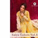 Cotton Semi Lawn Salwar Suits