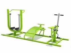 Multy Gym -Air Walker, Sit Up Board, Rider