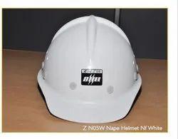 Concord FRP Fireman Helmet, Model Name/Number: ZN05W Nape White Color