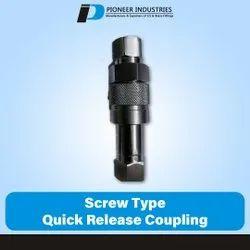 Screw Type Quick Release Coupling