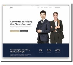 PHP/JavaScript Law Firm Web Design, With 24*7 Support