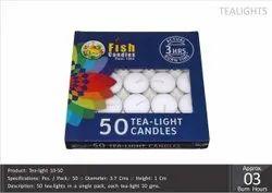 Tea-Light Candles 10-50