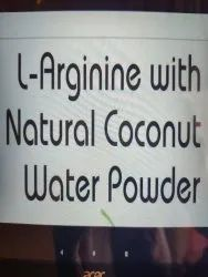 L- Arginine with natural Coconut Water
