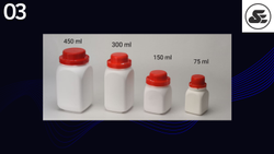 Square Seal Containers