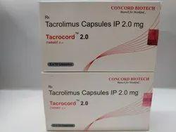 Tacrocord 2mg Capsules