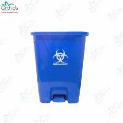Orchids Bio Waste Dust Bin 30 Litres (Blue)