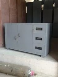 Steel Books Cabinet