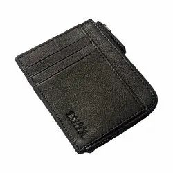 Genuine Leather Card Holder RFID Protected