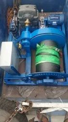Cable Pulling Winch Machine