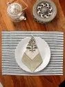 Cotton Hand Block Print Table Mats & Napkin