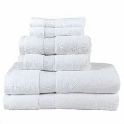 Cotton White Hand Towel