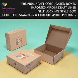 Imported Kraft Corrugated Boxes