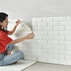 3D Brick Wall Furniture