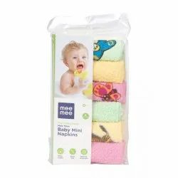 Mee Mee Absorbent Baby Mini Napkins, Newly Born