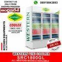 Western 3 Three Door Visi Cooler ,Chiller SRC1800GL